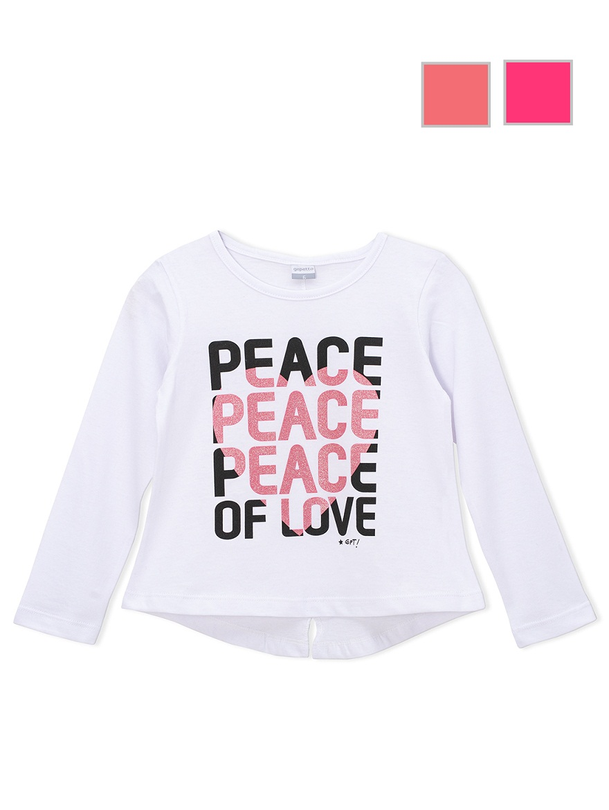 REMERA ART.175302 T.2/4/6/8/10/12/14/16 NENA ESTAMPA PEACE Talles: 2 A 16