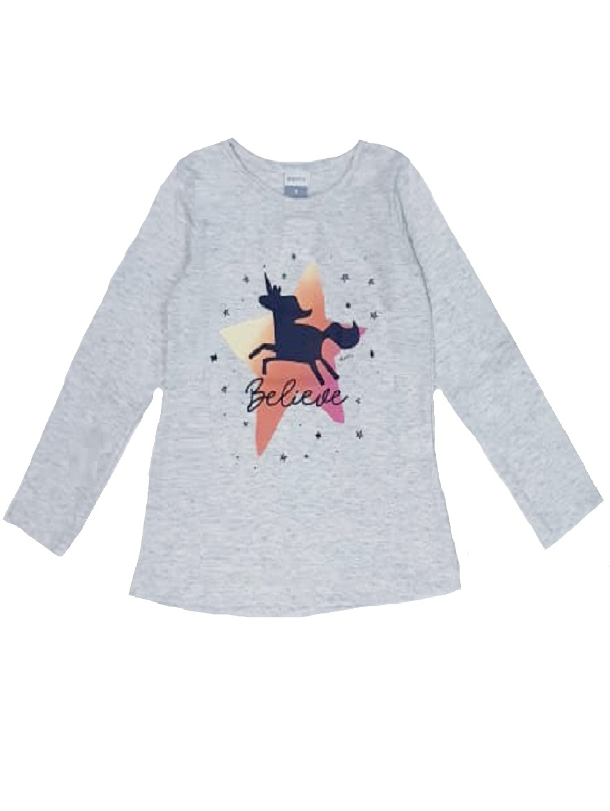 REMERA ART.176302 T.4/6/10/12/14/16 NENA ESTAMPA UNICORNIO Talles: 4 A 16