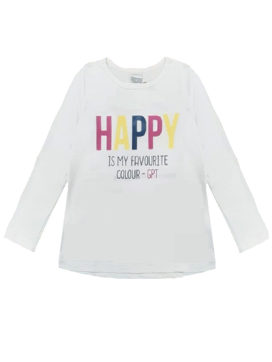REMERA ART.176303 T.4/6/10/12/14/16 NENA ESTAMPA HAPPY Talles: 4 A 16