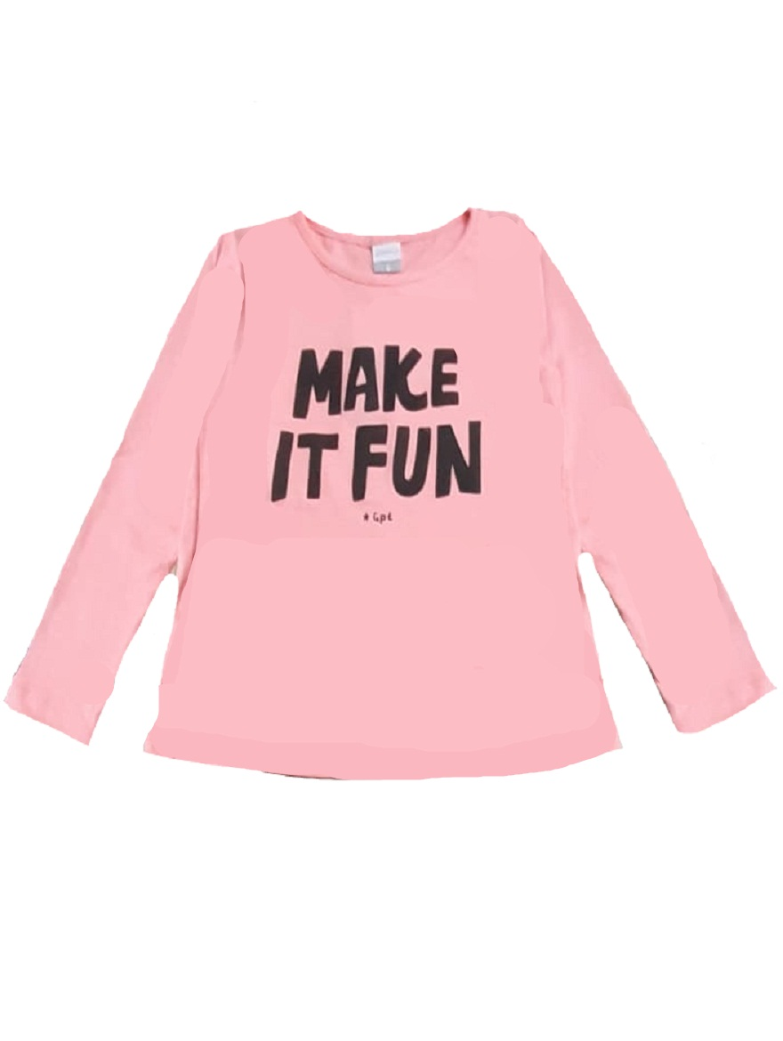 REMERA ART.176309 T.2/4/6/8/10/12/14/16 EST.MAKE IT FUN Talles: 2 A 16