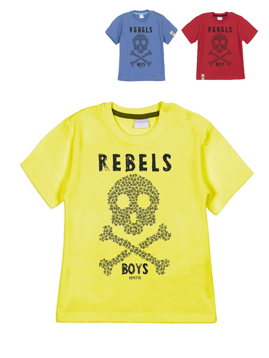 REMERA ART.183305 T.48M ESTAMPA REBELS Talles: 48M
