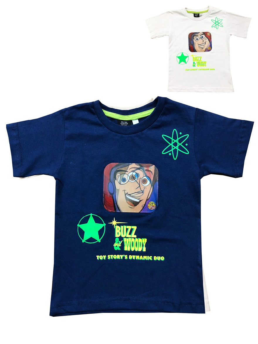 REMERA ART.708928 T.2/6 ESTAMPA TOY STORY CON LENTICULAR Talles: 2/6