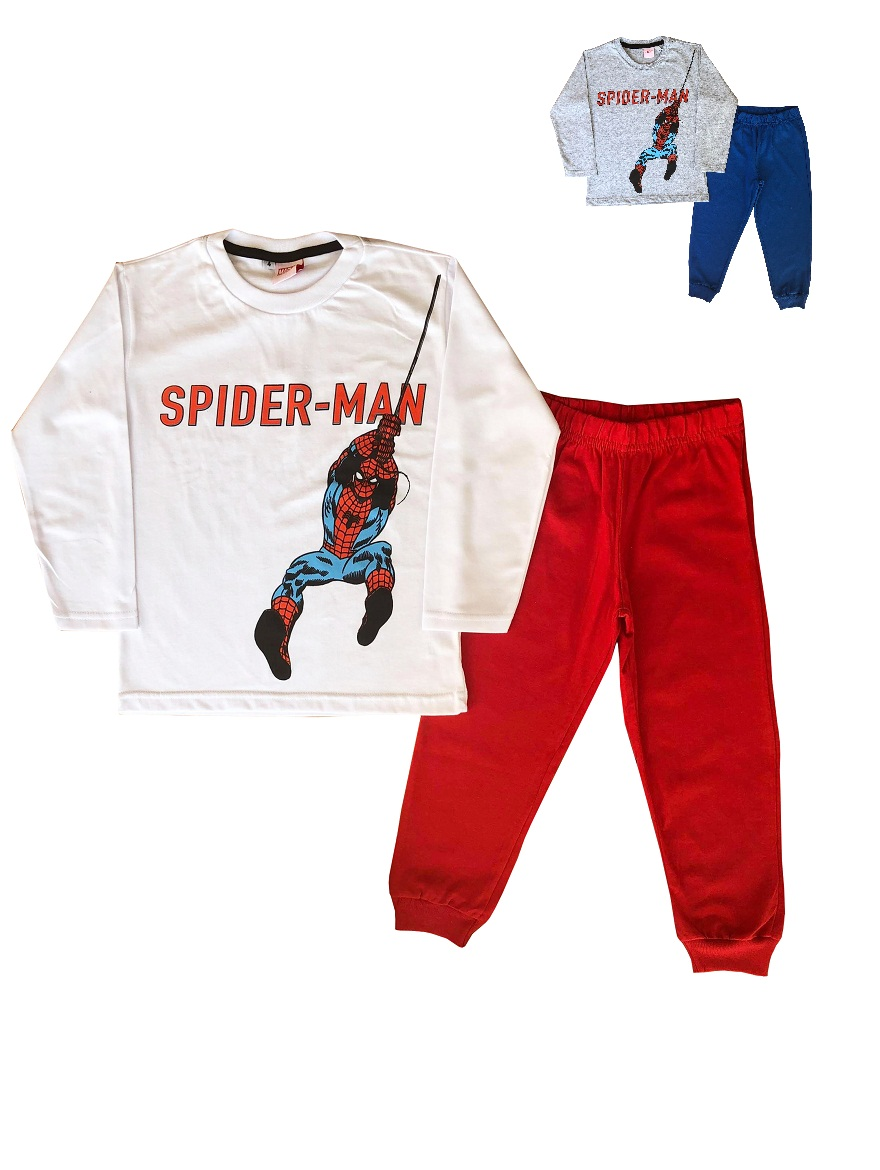 PIJAMA ART.708959 T.4/6/8 SPIDERMAN Talles: 4/6/8