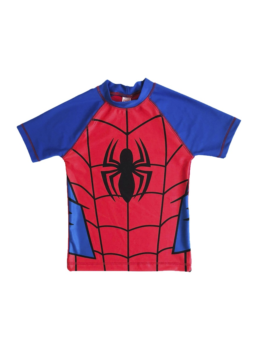 REMERA UV. ART.710476 T.6 FILTRO SOLAR ESTAMPA 50  ESTAMPA SPIDERMAN Talles: 6