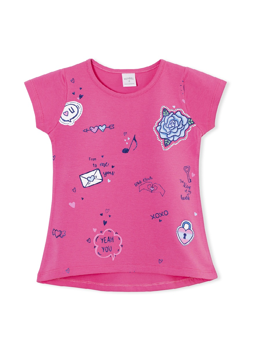 REMERA ART.1709 T.4/6/8/10/12 NENA CON ESTAMPA Talles: 4 A 12