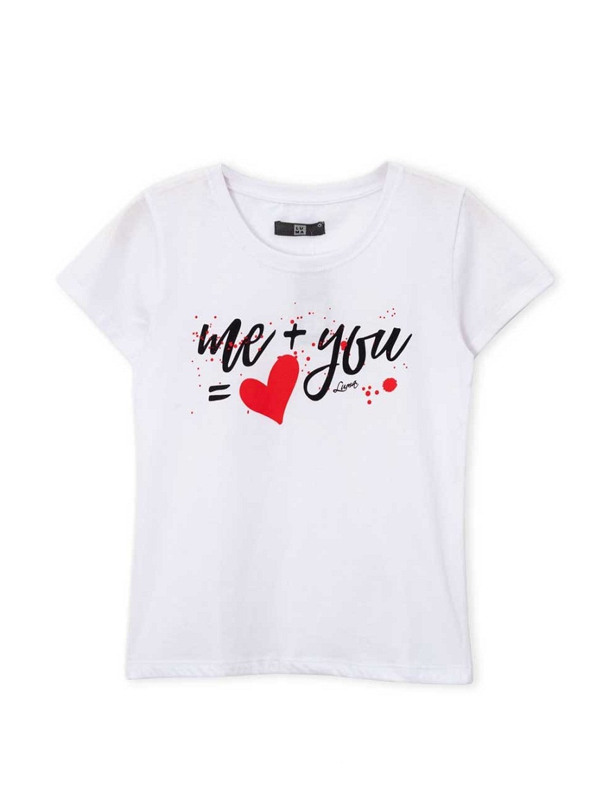 REMERA ART.0031 T. S/M/L  LINEA TEEN NENA JUNIORS ESTAMPA ME + YOU Talles: S/M/L