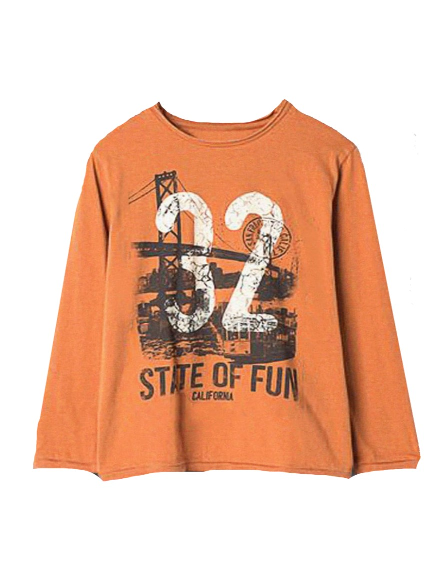 REMERA ART.1332 T.6/10/12/14 VARON N. 32 STATE OF FUN Talles: 6 A 14