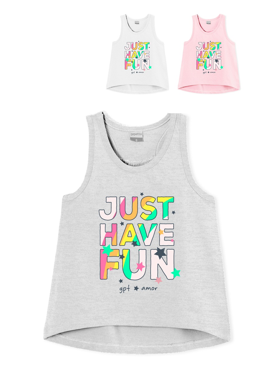 MUSCULOSA ART.205318 T.4/6/8/10/12/14/16 NENA JUST HAVE FUN Talles: 4 A 16