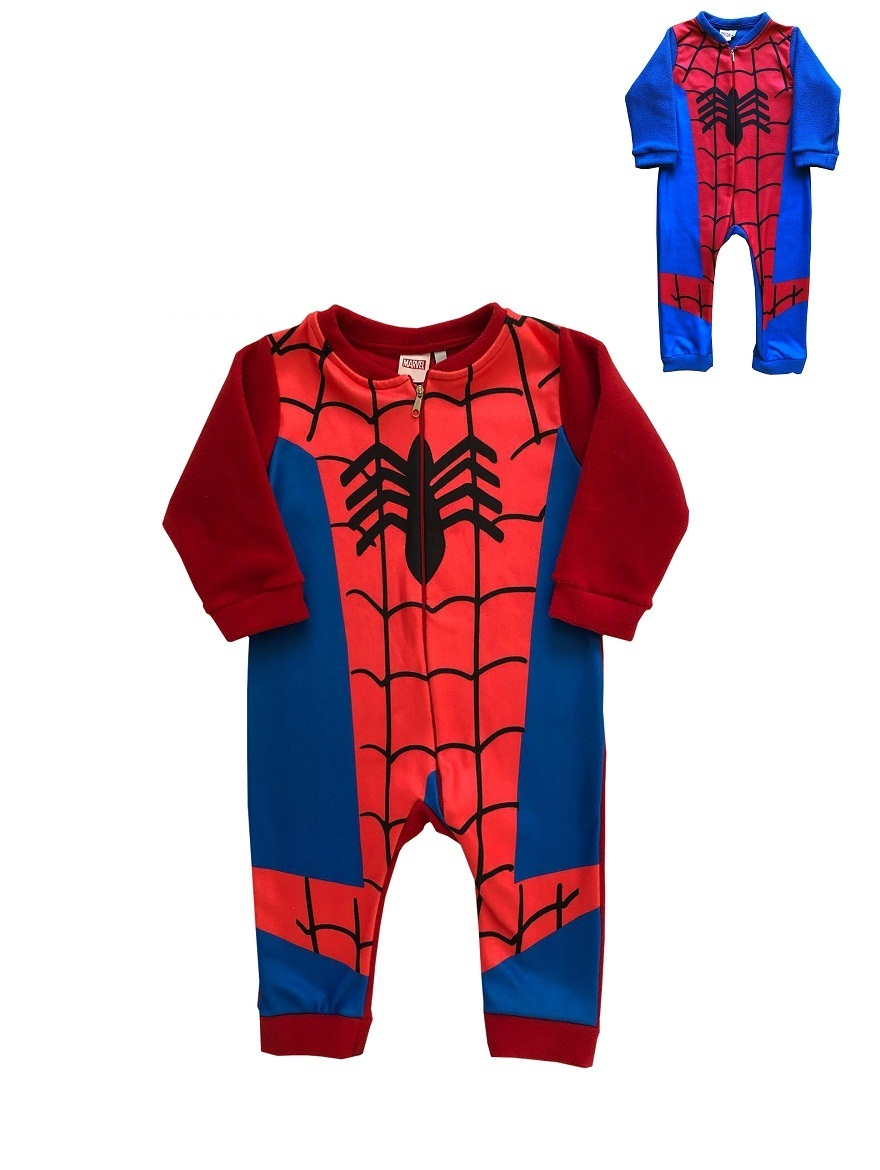 ENTERITO ART.709378 T.4/6/8/10 POLAR SUBLIMADO SPIDERMAN Talles: 4/6/8/10