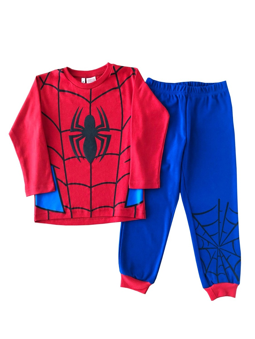 PIJAMA ART.709488 T.2/4/6/8/10/12 SPIDERMAN Talles: 2 A 12