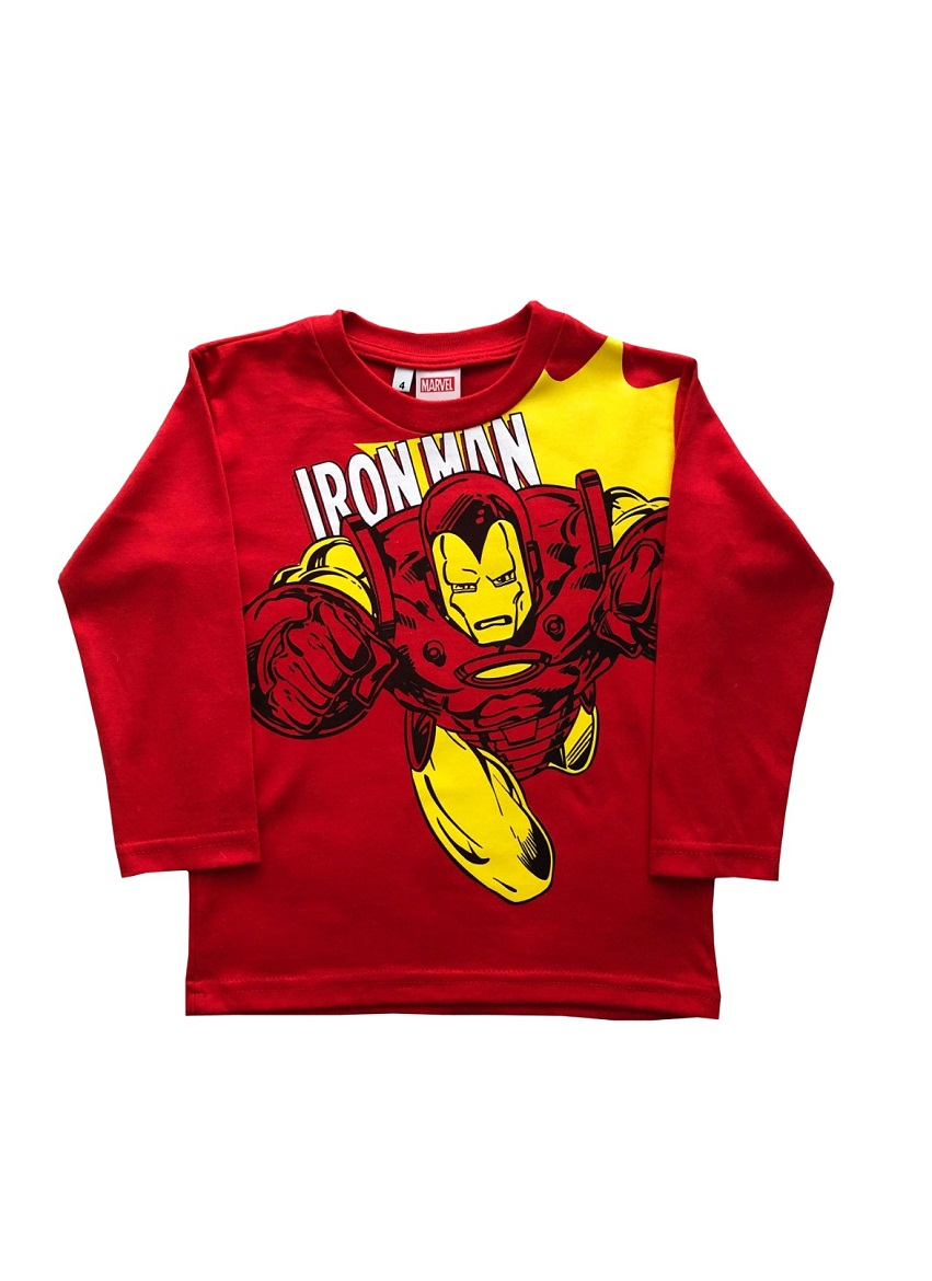 REMERA ART.900148 T.4/8/10 IRON MAN Talles: 4 A 10