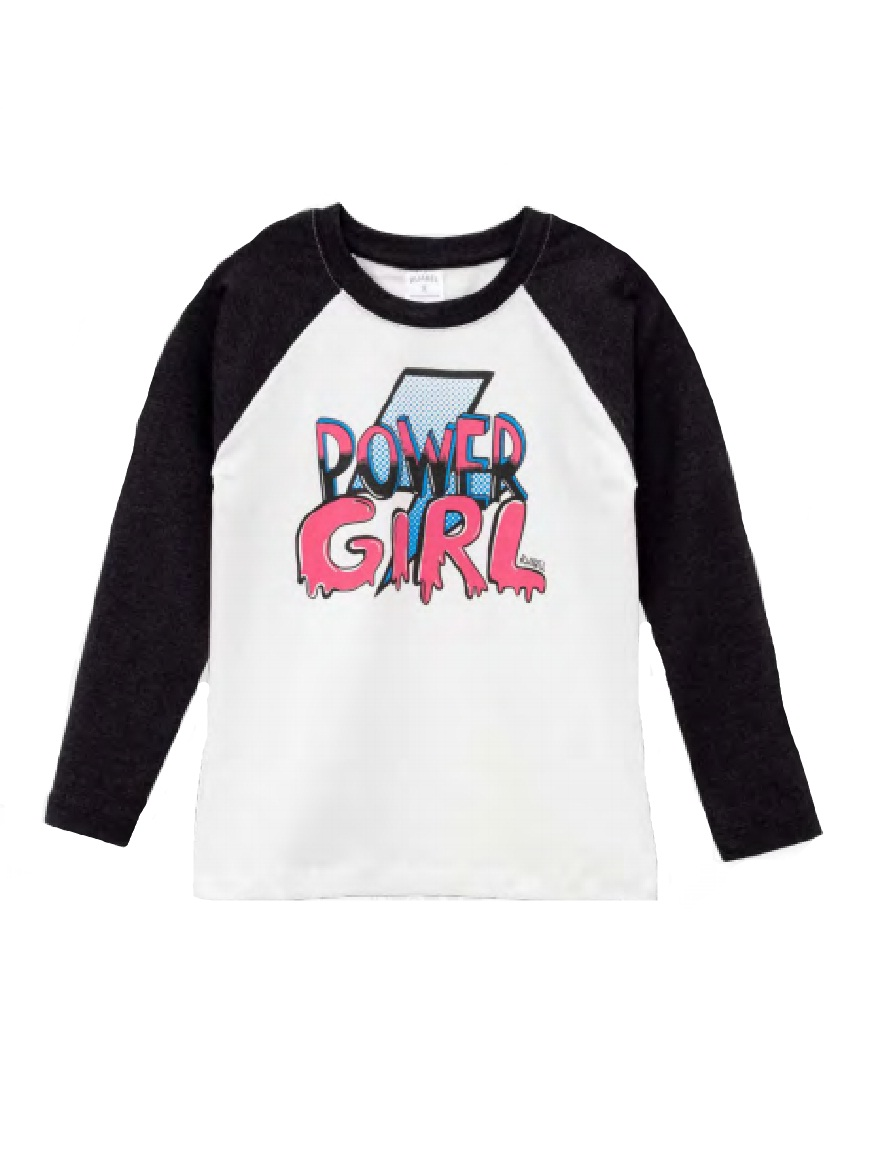 REMERA ART.2507 T.10/12/16 NENA CON ESTAMPA POWER GIRL Talles: 10 A 16