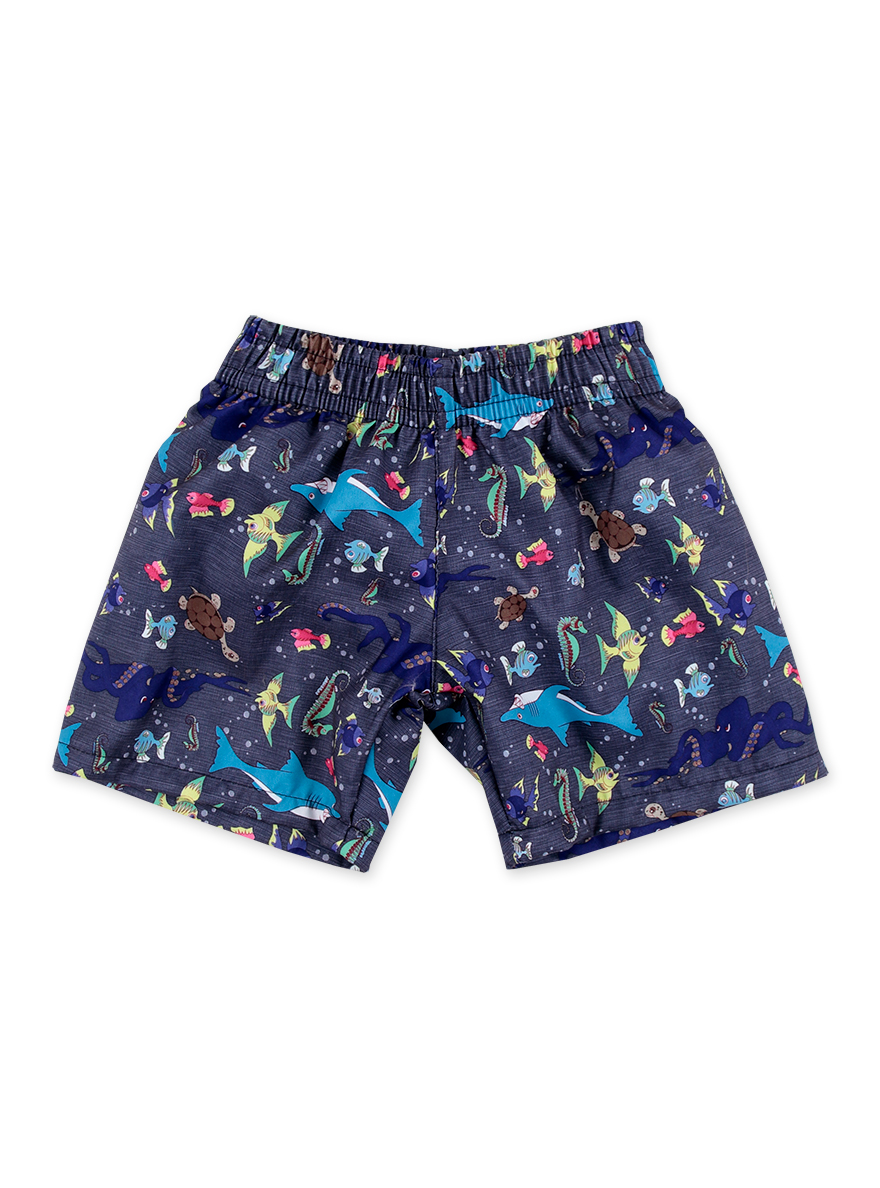 SHORT DE BAÑO ART.18610 T.2/3/4/5/6 ESTAMPADA