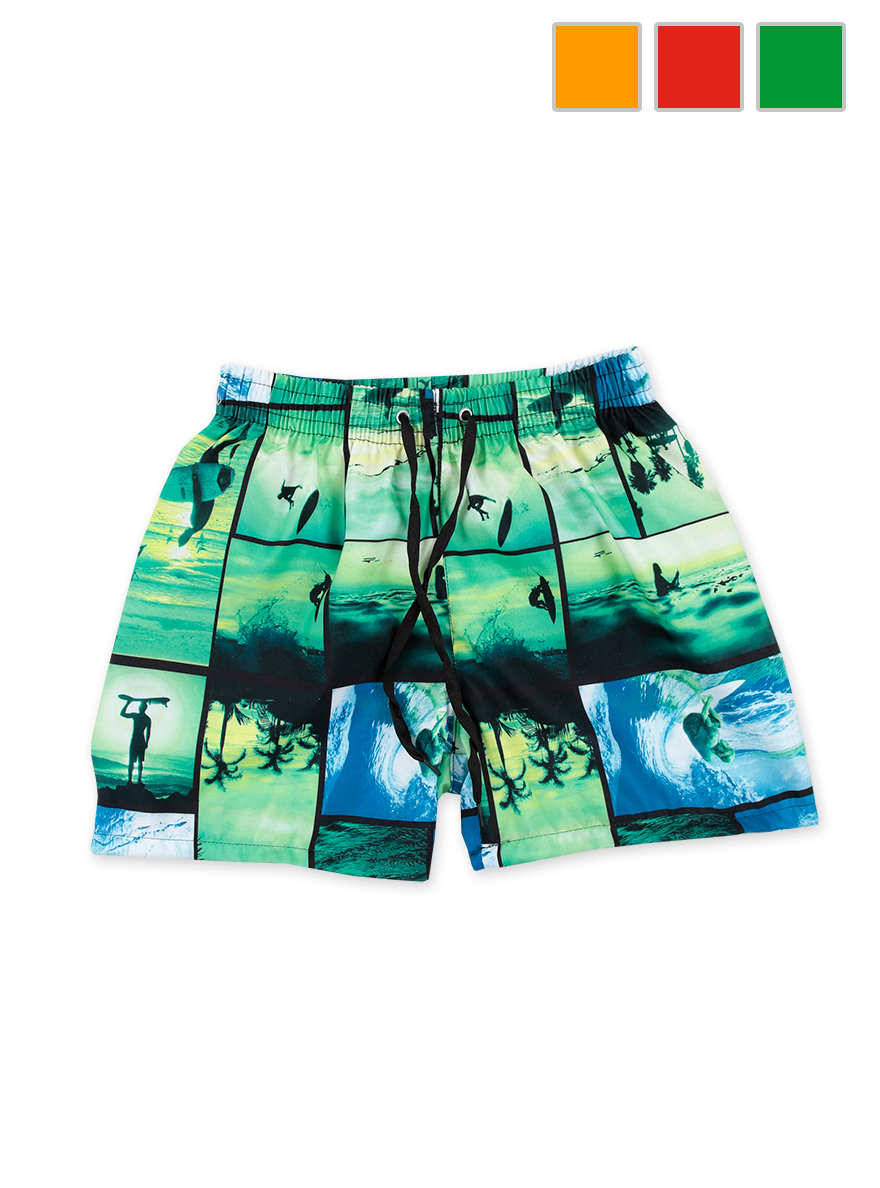 SHORT DE BAÑO ART.18635 T.4/6/8/10/12/14/16 ESTAMPA