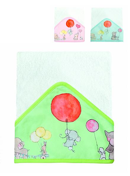 TOALÓN ART.1006553 C/CAP. SUBLIMADO TERMINACIÓN BIES