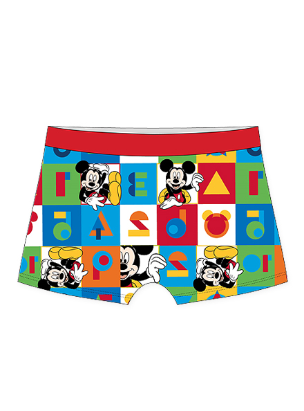 BOXER ART.310184 T.2/3/4 MICKEY Talles: 2/3/4