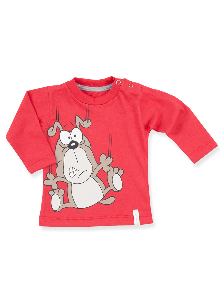 REMERA ART.6203 T.6/9/12  M MINI BEBE LISA COLOR C/ESTAMPA