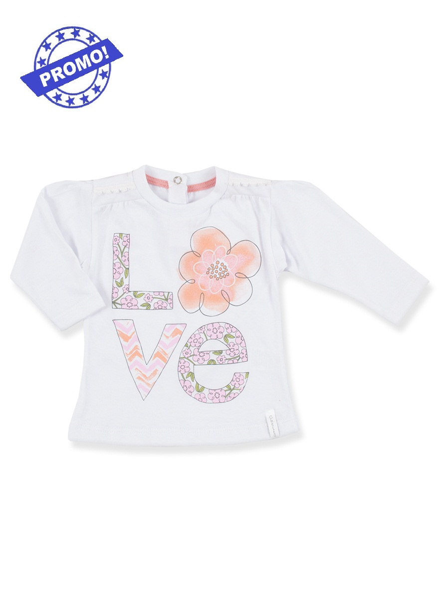 REMERA ART.6208 T.6/9/12 M LISA COLOR C/ESTAMPA