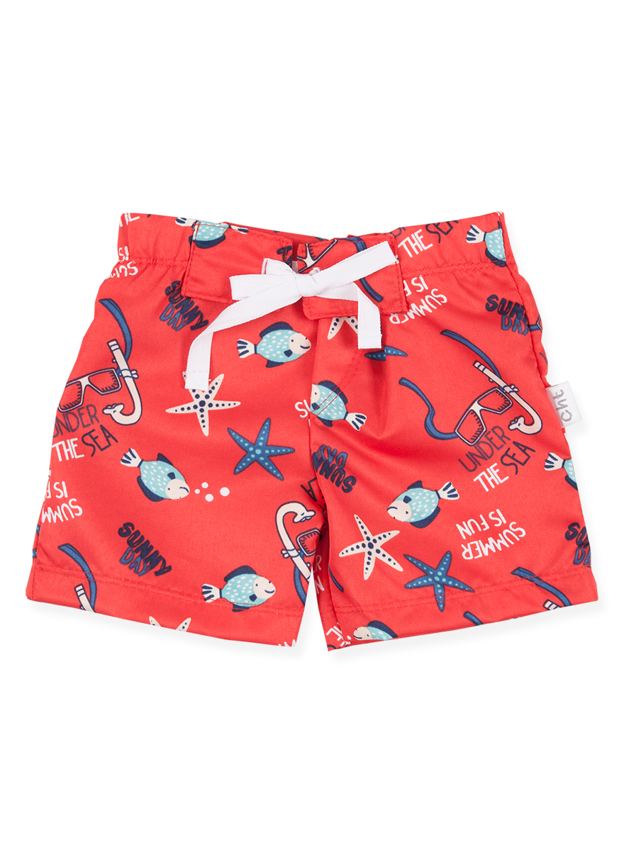 SHORT DE BAÑO ART.6347 T.6 MINI BEBE ESTAMPADO Talles: 6 M