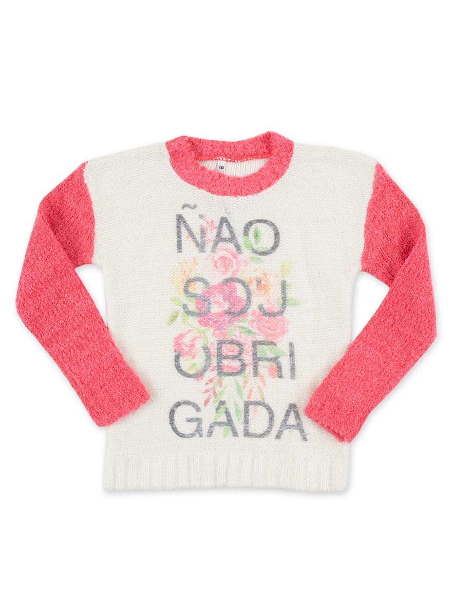 SWETER ART.12755 T.4/6/8/10/12 PELO BUCLE NENA Talles: 4 A 12