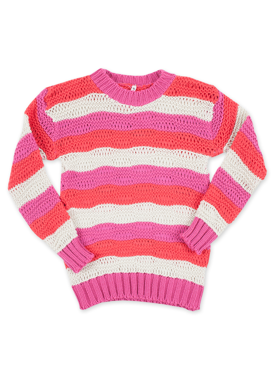 SWETER ART.12767 T.4/6/8/10/12/14 NENA MULTICOLOR Talles: 4 A 14