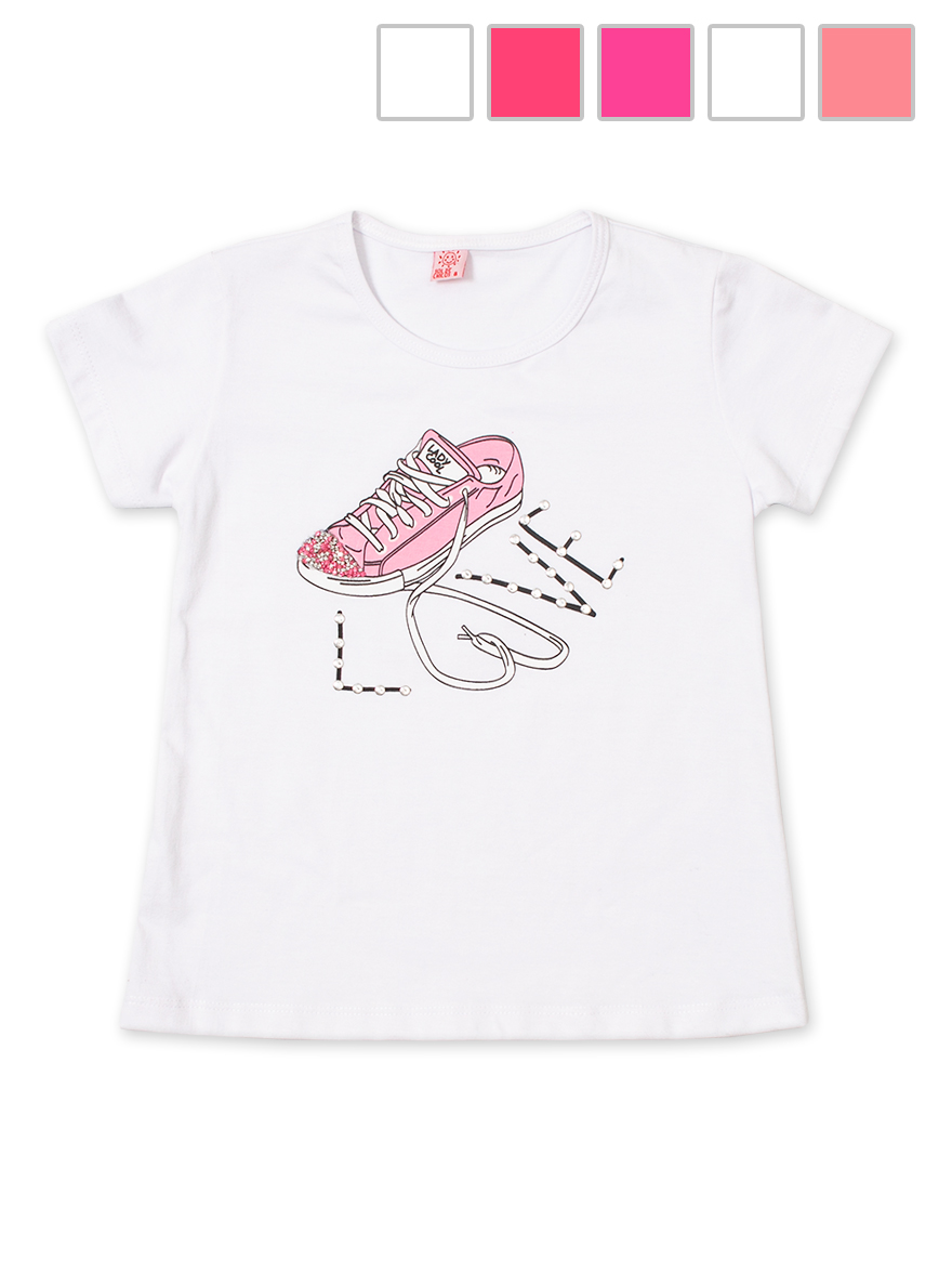 REMERA ART.622 T.10 NENA EST. ZAPATILLAS CON BRILLO Talles: 10