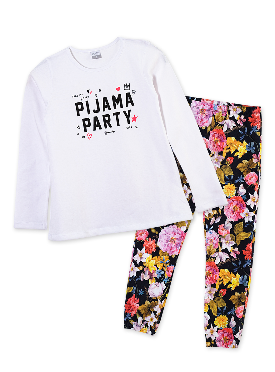 PIJAMA ART.155346 T.4/6/8/10/12 NENA PARTY Talles: 4 A 12